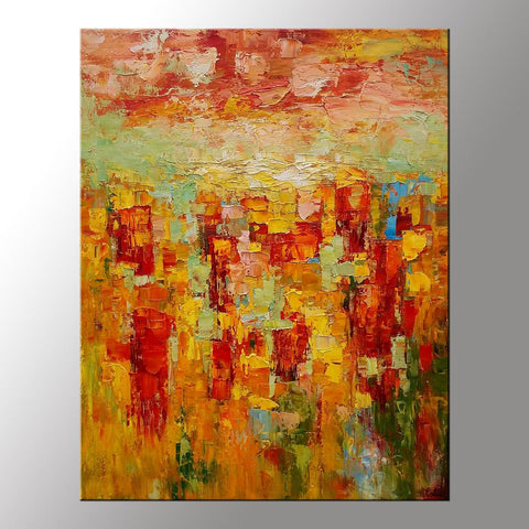 Abstract Art Painting, Large Painting, Extra Large Canvas Wall Art, Custom Abstract Art Painting-artworkcanvas