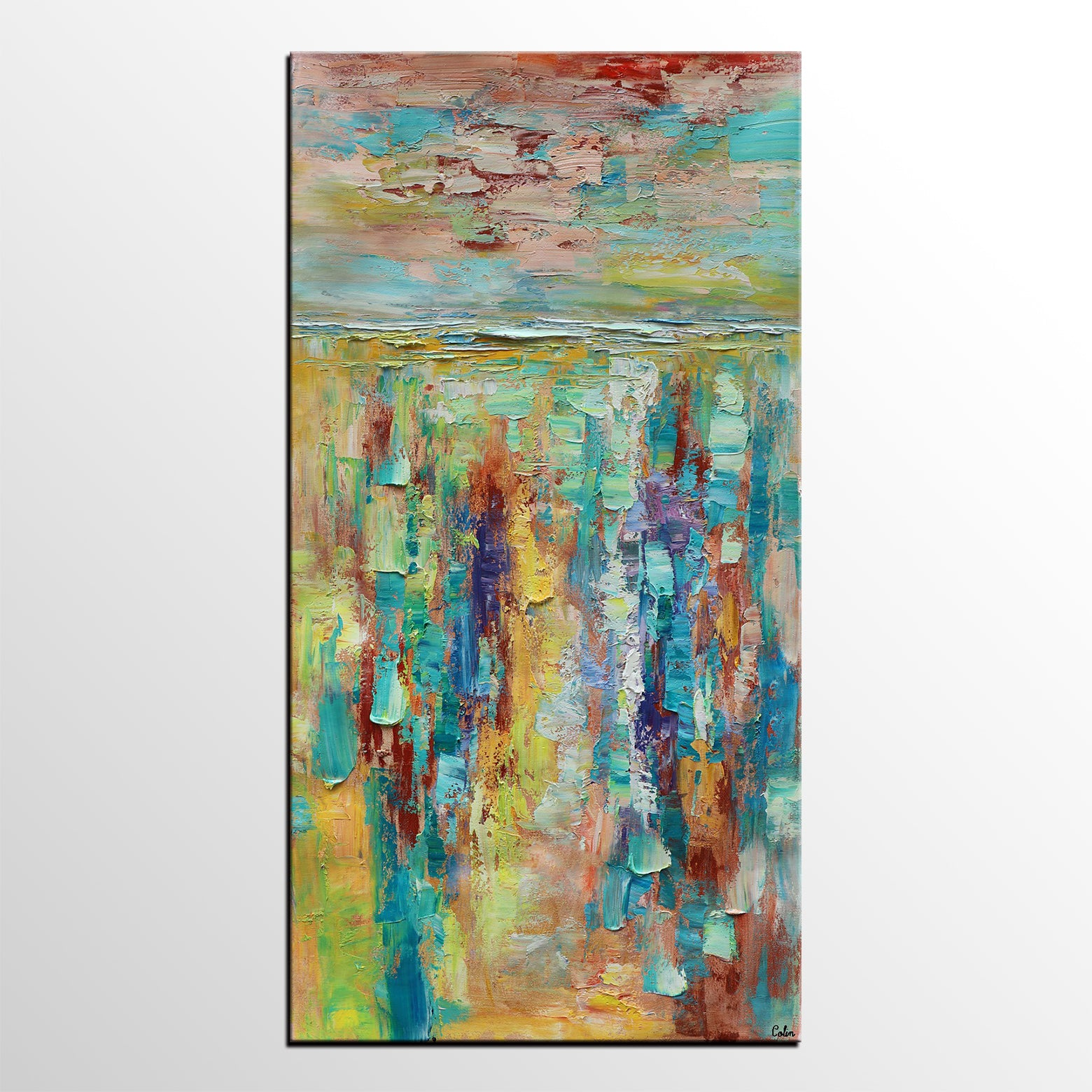 Abstract Art Painting, Wall Painting, Original Painting, Canvas Art, Custom Extra Large Painting - artworkcanvas