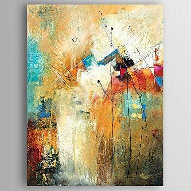 Kitchen Wall Art, Canvas Painting, Heavy Texture Painting, Abstract Wall Art, Canvas Wall Art-artworkcanvas