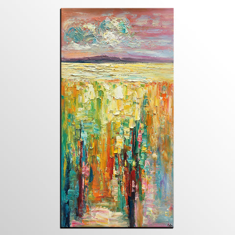Abstract Art Painting, Canvas Art, Wall Painting, Original Painting, Custom Extra Large Painting - artworkcanvas