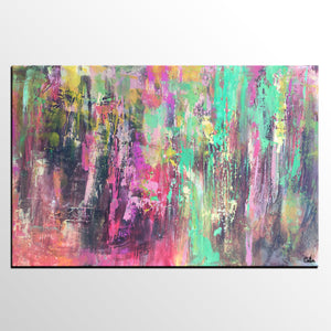 Canvas Artwork, Large Abstract Art, Original Art, Bedroom Wall Art, Oil Painting - artworkcanvas