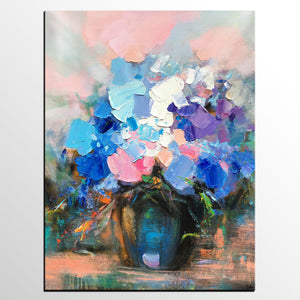 Flower Painting, Sill Life Art, Original Painting, Large Art, Canvas Art, Wall Art, Canvas Artwork, Canvas Painting, Framed Art - artworkcanvas