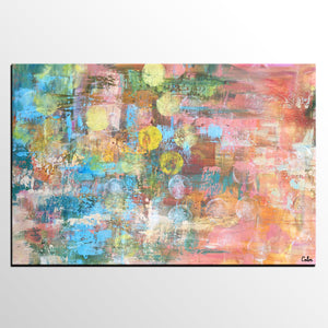 Canvas Wall Art, Contemporary Art, Abstract Art, Large Art, Abstract Painting, Canvas Painting - artworkcanvas