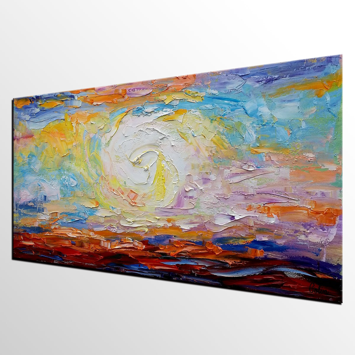 Large Modern Painting, Canvas Art, Wall Art, Abstract Painting, Modern Art