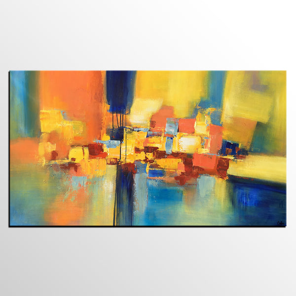 Abstract Acrylic Painting, Canvas Painting, Large Painting, Abstract Painting, Modern Art-artworkcanvas