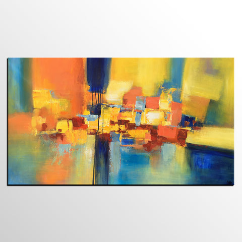 Abstract Acrylic Painting, Canvas Painting, Large Painting, Abstract Painting, Modern Art - artworkcanvas