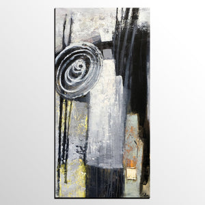Modern Art, Abstract Acrylic Painting, Canvas Wall Art, Canvas Painting, Art on Canvas-artworkcanvas