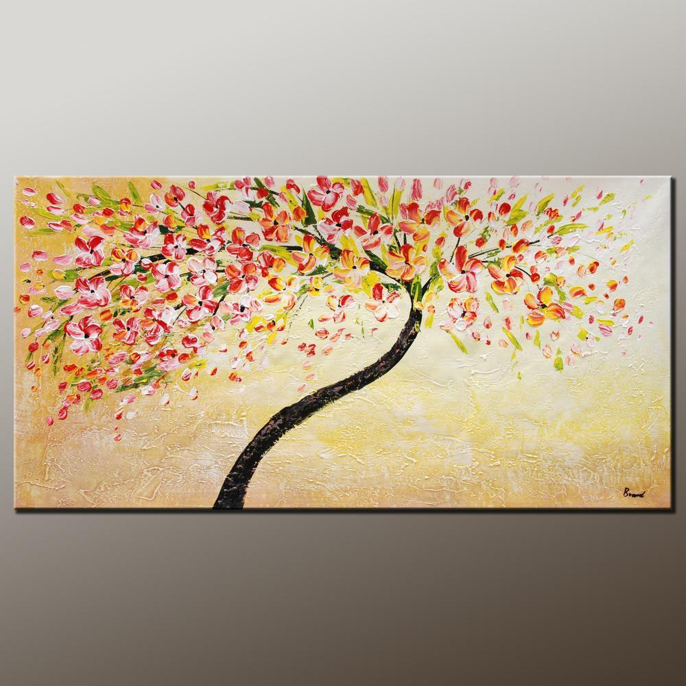 Oil Painting, Heavy Texture Painting, Floral Art, Flower Painting ...