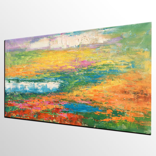 Bedroom Wall Art, Large Art, Canvas Art, Abstract Art, Abstract Painting, Acrylic Painting, Wall Art, Canvas Painting, Impasto Art - artworkcanvas