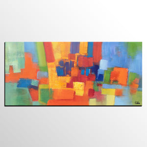 Abstract Painting, Abstract Art, Bedroom Wall Art, Canvas Art Painting, Art on Canvas