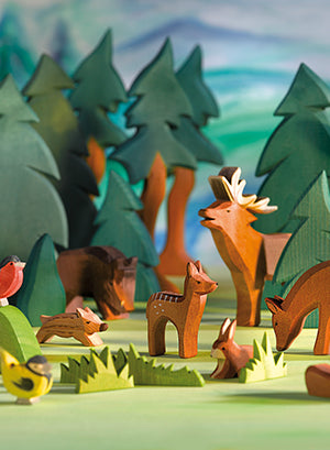 Ostheimer Wooden Toys Forest And Meadow Figures Animals Australia