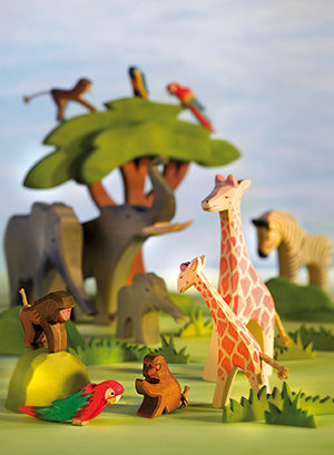 Ostheimer Wooden Toys Wild Animals around the World Australia