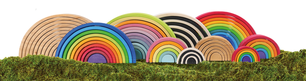 Grimm's Wooden Toys Rainbow World