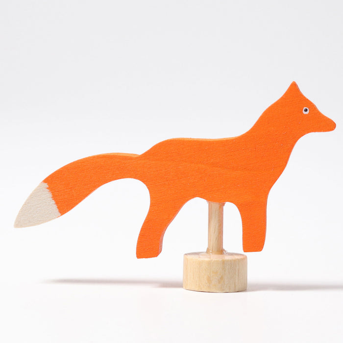 03300 Grimms Fox Candle Holder Decoration