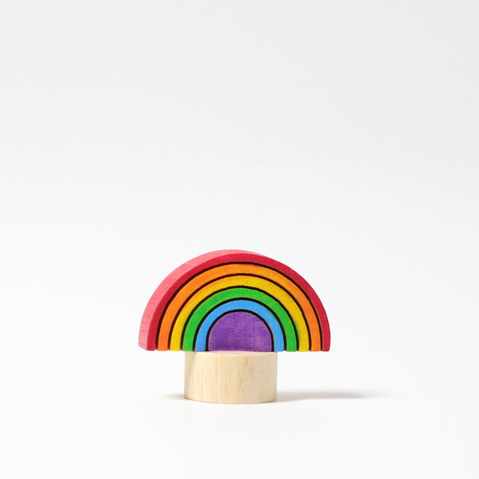 03317 Grimms Rainbow Candle Holder Decoration