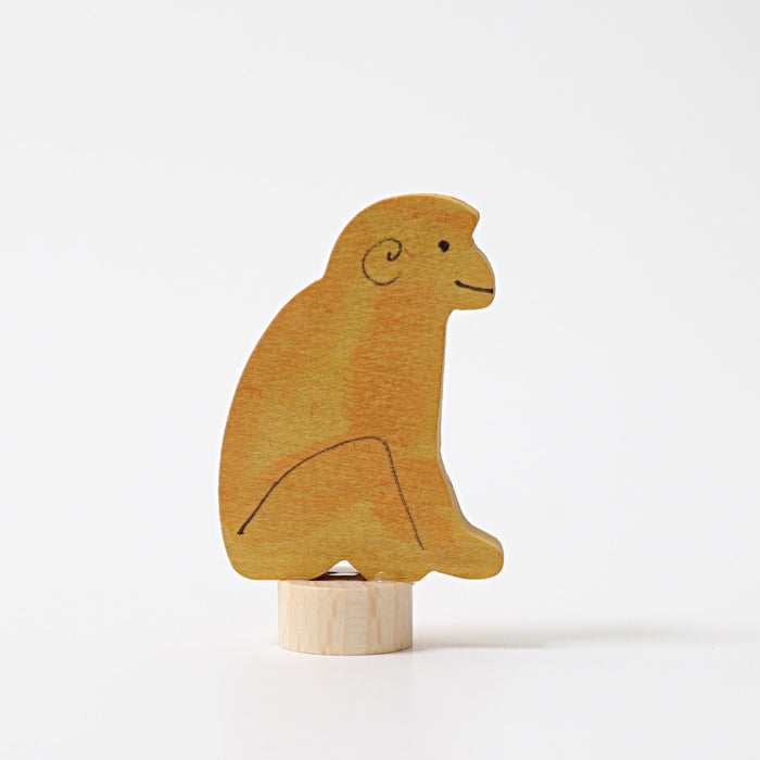 Grimm's Sitting Monkey Candle Holder Decoration