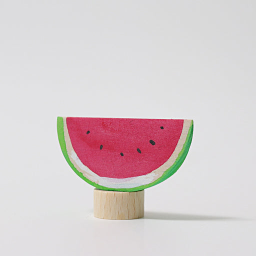Grimm's Watermelon Candle Holder Decoration