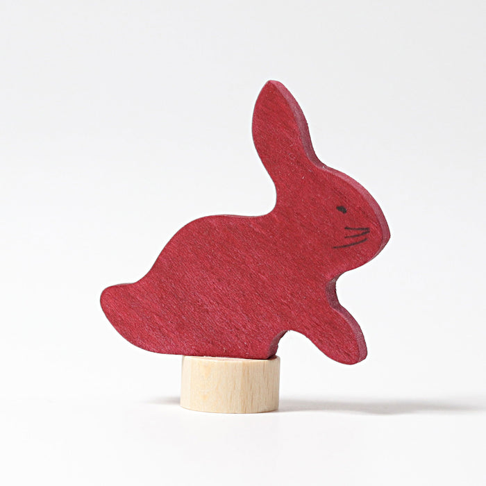 3530 Grimm's Rabbit Candle Holder Decoration