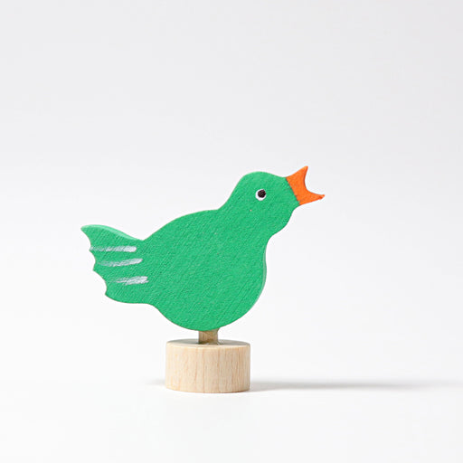 3533 Grimm's Singing Bird Candle Holder Decoration