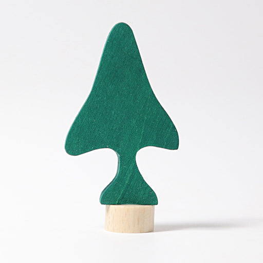 3550 Grimm's Pine Tree Candle Holder Decoration