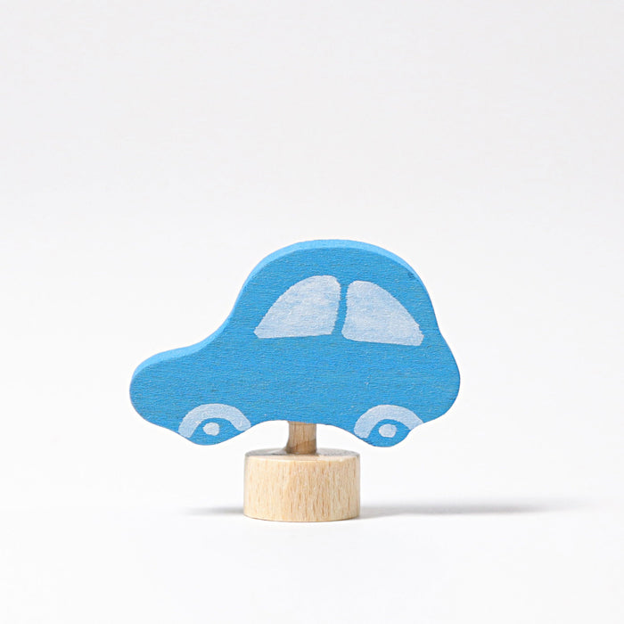 3561 Grimm's Car Blue Candle Holder Decoration