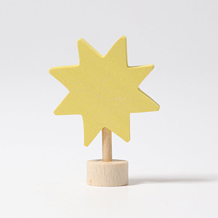 03590 Grimms Star Candle Holder Decoration