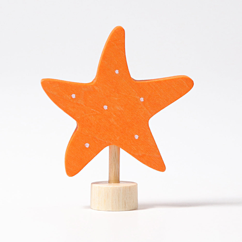 03631 Grimm's Starfish Candle Holder Decoration