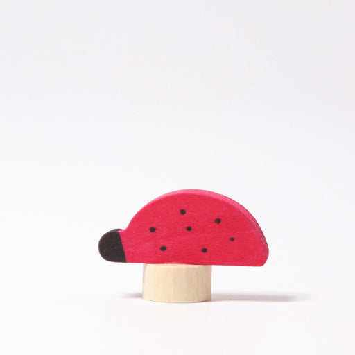 03750 Grimms Ladybird Candle Holder Decoration