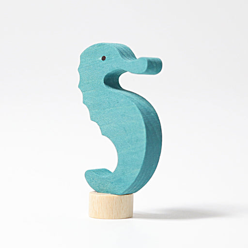 3850 Grimm's Seahorse Candle Holder Decoration
