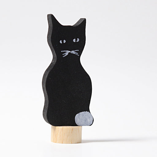 3940 Grimm's Cat Candle Holder Decoration