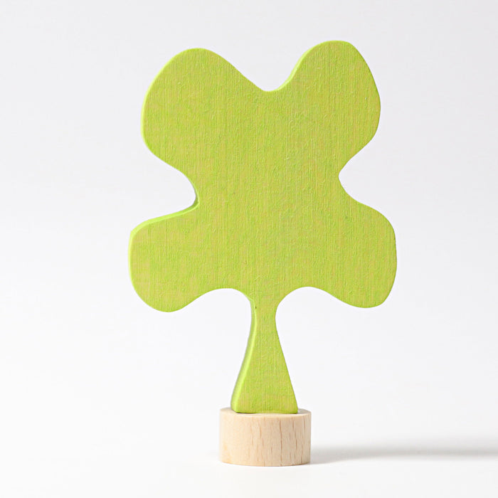 03990 Grimms Clover Candle Holder Decoration