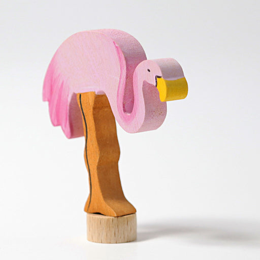 04070 Grimm's Decorative Figure Flamingo