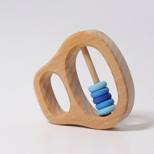 8131 Grimm's Grasping Toy Rattle with blue rings
