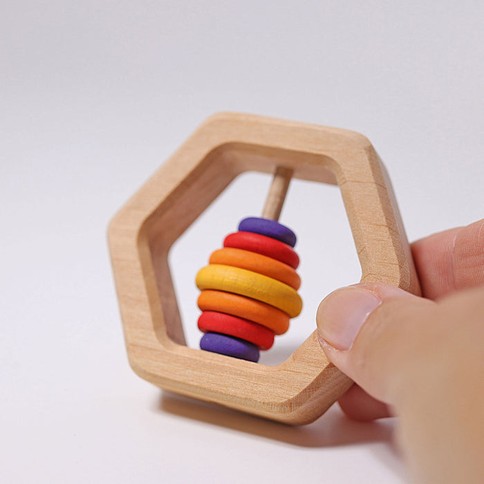08140 Grimms Gasping Toy Hexagonal