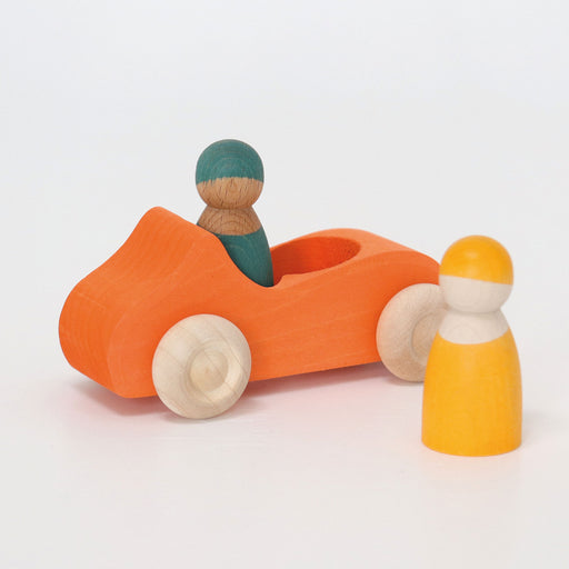 Grimm's Large Convertible Orange Car New Item 2019
