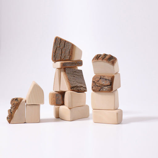 Grimm's 15 Blocks with Bark