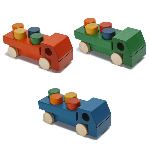 Weizenkorn Wooden Truck with 4 Blocks