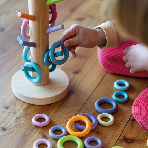 10161 Grimm's Sorting Helper Building Rings Pastel