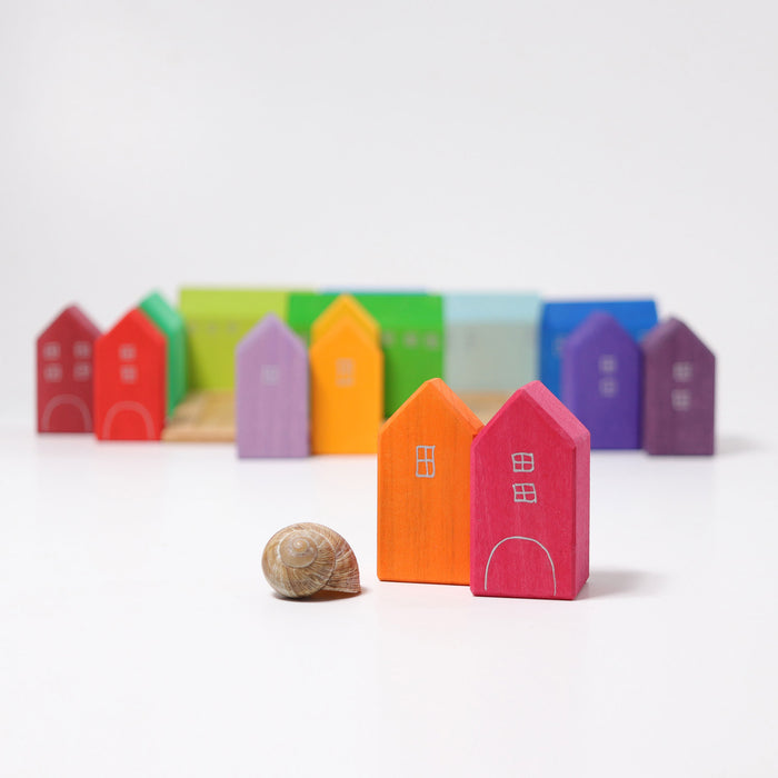 10176 Grimm's Small Wooden Houses hand painted