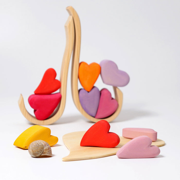 10178 Grimm's Building Set Red Hearts