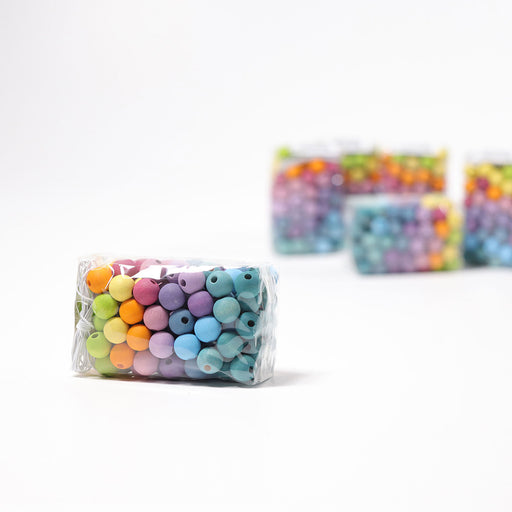 10259 Grimm's 120 Pastel Beads 12mm