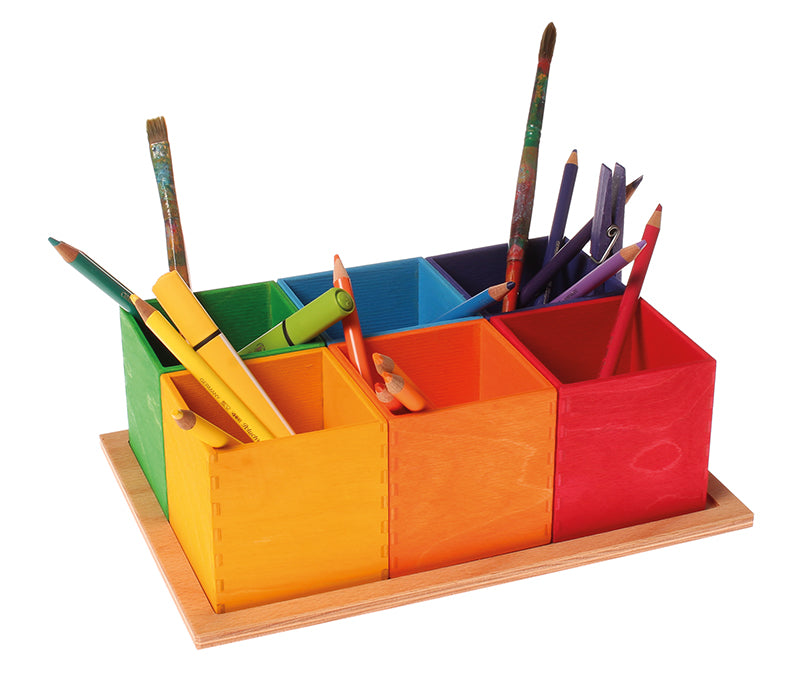 10298 Grimm's Rainbow Sorting Boxes Small