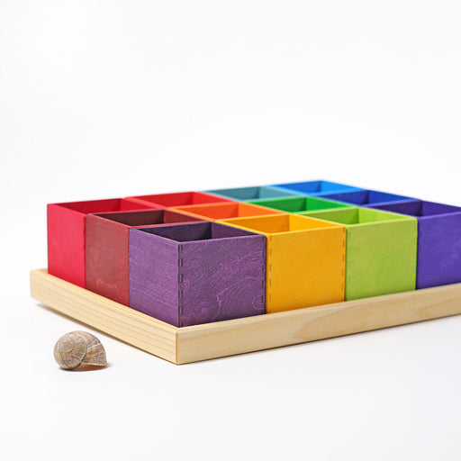 10299 Grimm's Rainbow Sorting Boxes