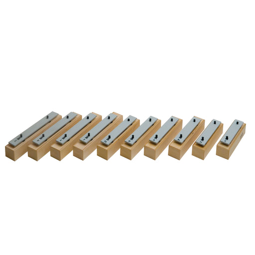 10507 Goldon Chime Bars Soprano Aluminium Set of 10