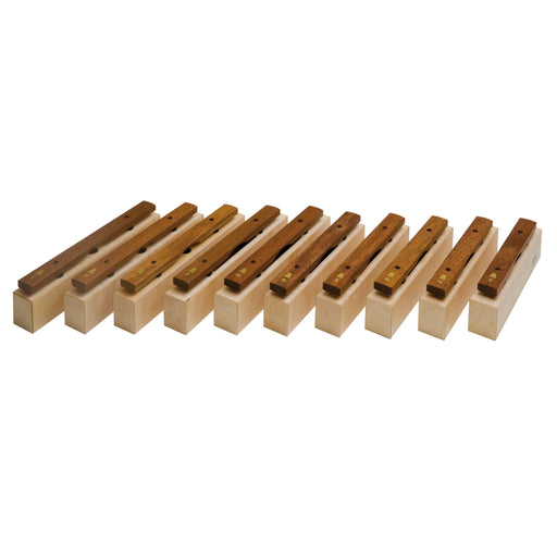 10617 Goldon Chime Bars Alto Sucupira Set of 10