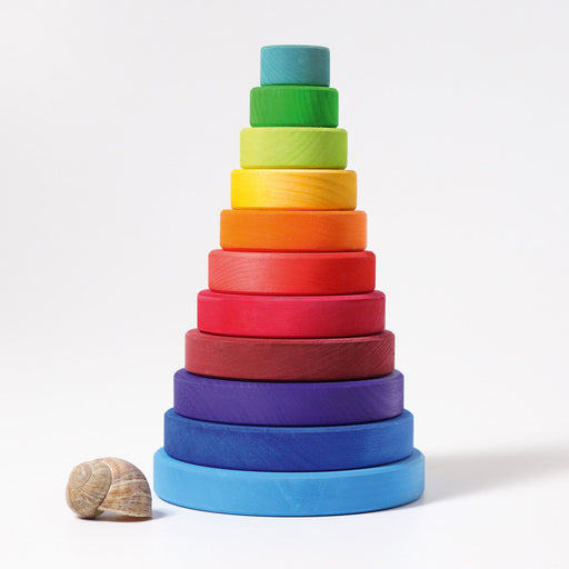 11000 Grimms Large Rainbow Conical Stacking Tower