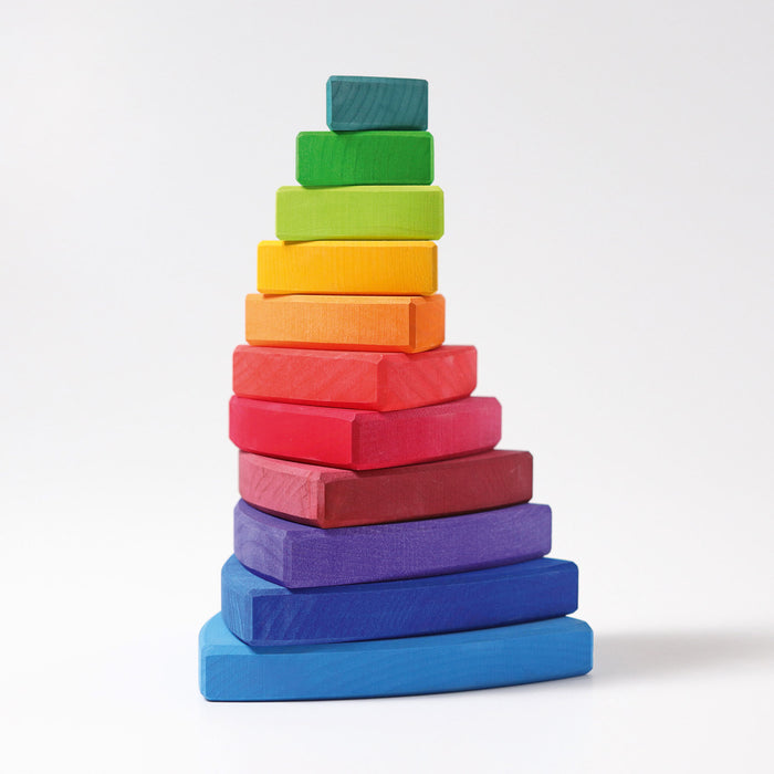 11030 Grimms Rainbow Triangle Stacking Tower