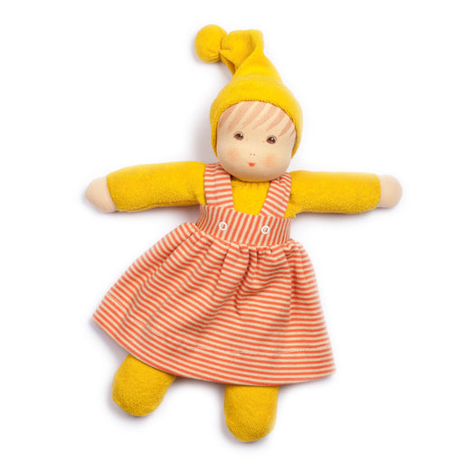 122049 Nanchen Natur Little Girl Doll Yellow