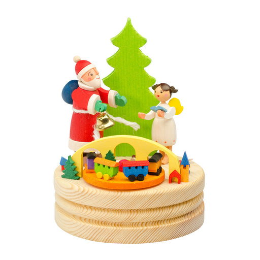 13400-Graupner Music Box Santa with Angel 01
