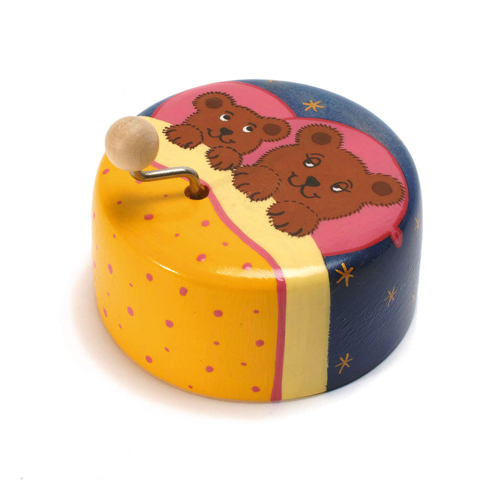 14150 Weizenkorn Musical Box Bear